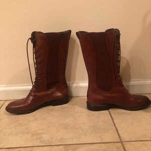 Vintage Lace Up Cole Haan Country Boots